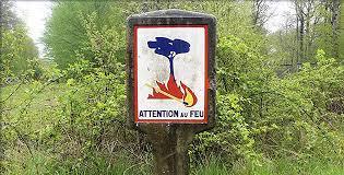 Carte du risque incendie en Corse