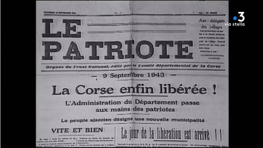 Commémoration de la libération de la Corse