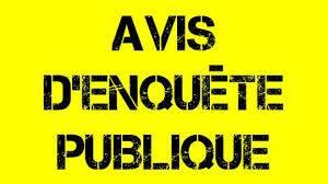 AVIS D'ENQUÊTE PUBLIQUE – Modification PADDUC
